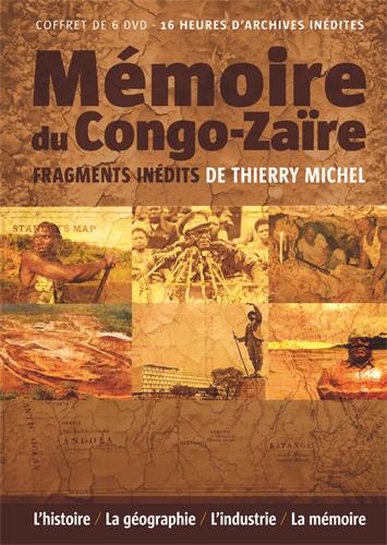 Mémoire du Congo-Zaïre - coffret de 6 DVD