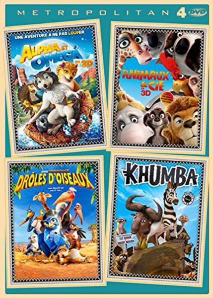 Khumba + Drôles d'oiseaux + Animaux & Cie + Alpha & Omega