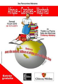 3ème Rencontres Littéraires Afrique - Caraïbes - Maghreb [...]