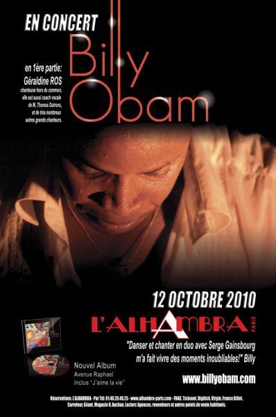 Billy OBAM en concert