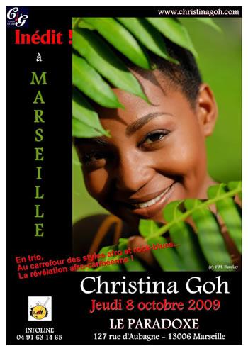 Christina Goh... Marseille Live !