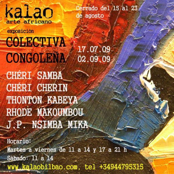 Exposition Colectiva congolena