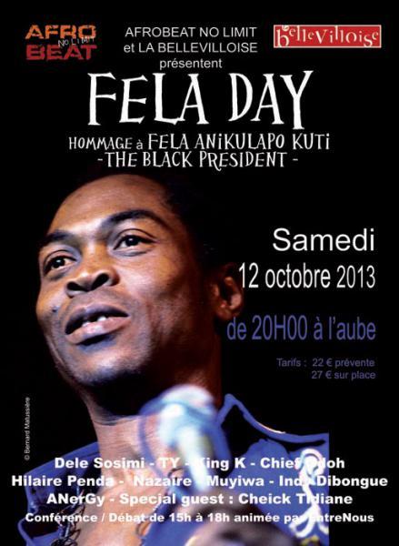 FELA DAY 2013 - Hommage à Fela Anikulapo Kuti : Dele [...]