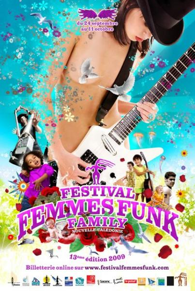 Festival Femmes Funk Family 2009
