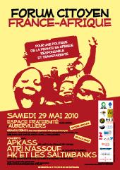 Forum citoyen France-Afrique d'Aubervilliers