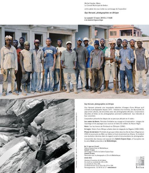 Guy Hersant, photographies en Afrique