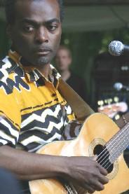 Kristo Numpuby à la Fête Multiculturelle de Vevey (CH)