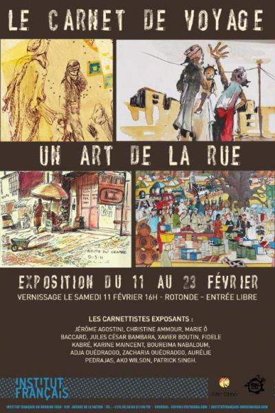 Le carnet de voyage, un art de la rue !