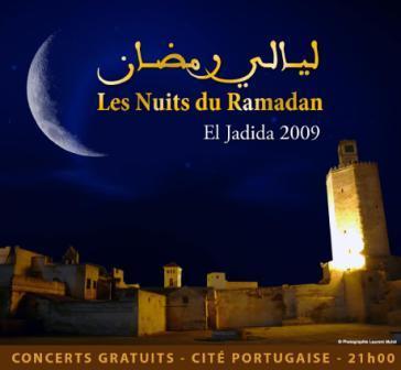 Les Nuits du Ramadan d'El Jadida 2009