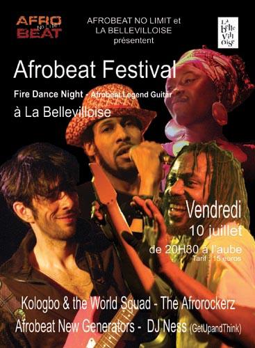 Les nuits Afrobeat No Limit - Fire Dance Night - Kologbo & [...]