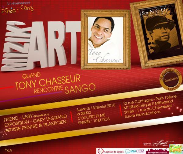 Mizik'arts avec Sango, Tony Chasseur, Lary et Gary Legrand