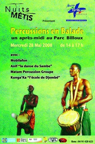 Percussions en Balade