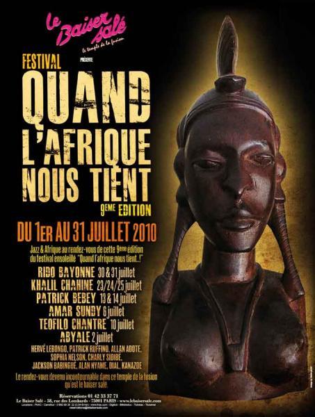 Franck Biyong and Massak au festival Quand l'Afrique nous [...]