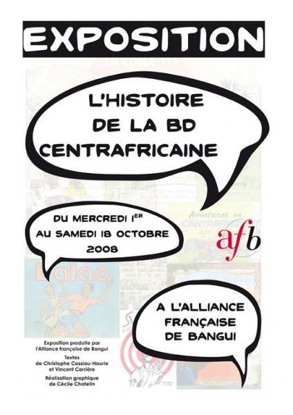 Histoire de la bande dessinée centrafricaine (L')