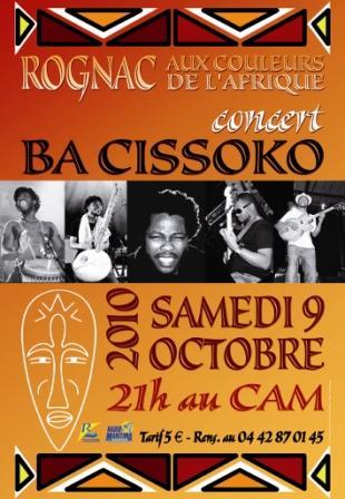 Concert Ba Cissoko