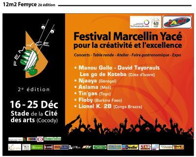 Festival Marcellin Yacé pour la Créativité et [...]
