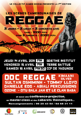 Les Scènes camerounaises de reggae