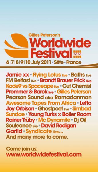 Worldwide festival 2011