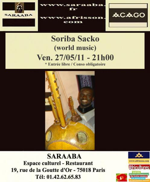 Soriba Sacko (world music)