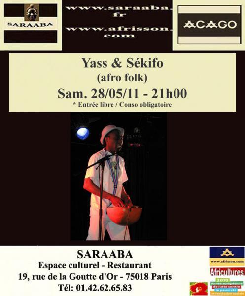 Yass & Sékifo (afro folk)