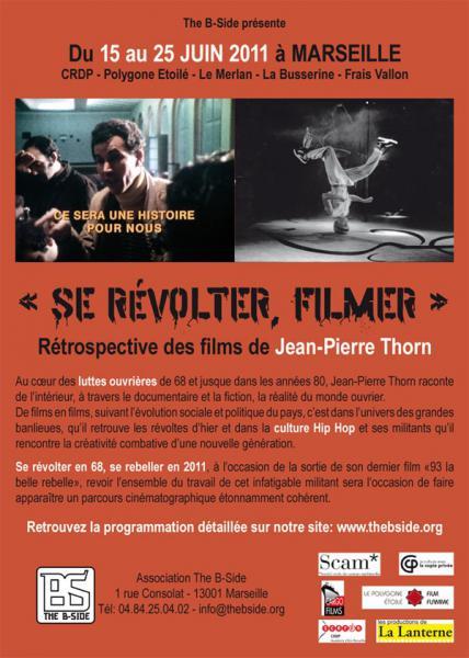 Se révolter, filmer Rétrospective des films de Jean [...]