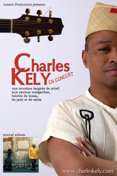 Charles Kely concert aux Voûtes