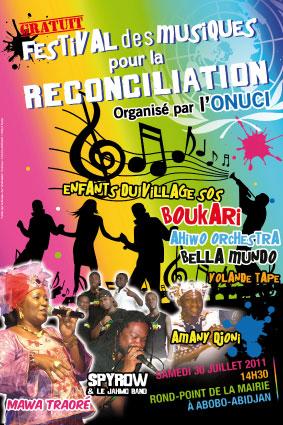 Festivals des musiques pour la paix et la réconciliation