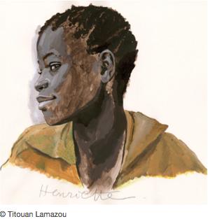 Titouan Lamazou, Ténèbres au paradis, africaines des [...]