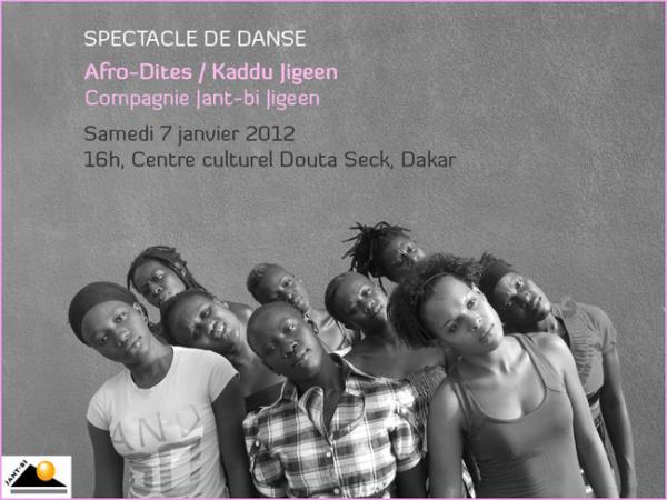Afro-Dites / Kaddu Jigeen, cie Jant-Bi Jigeen