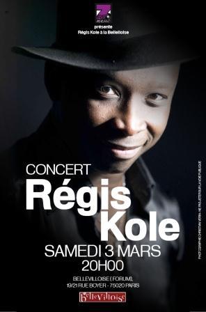 Régis Kole en concert