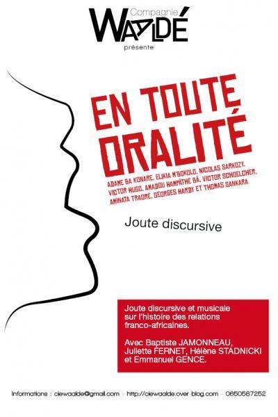 En toute oralité / Compagnie Waaldé