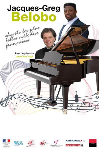 Jacques-Greg Belobo chante les plus belles mélodies [...]