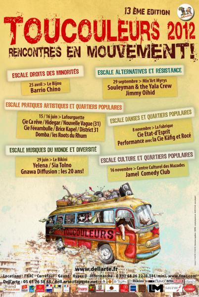 Toucouleurs 2012, rencontres en mouvement !