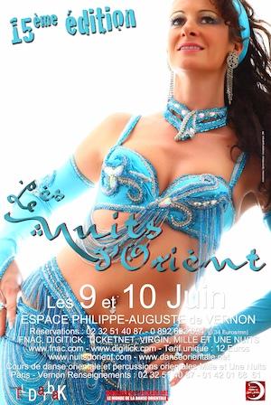 1001 nuits, festival de danse orientale 2012