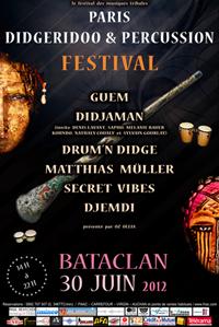 Paris Didgeridoo & Percussion Festival