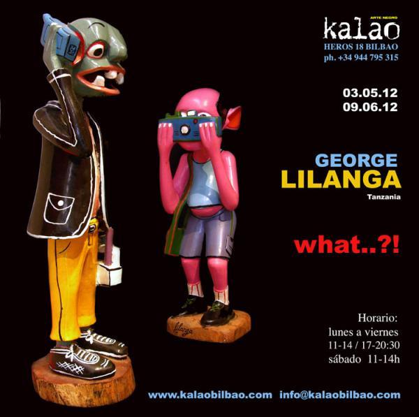 <em>What...?! </em>exposition de George Lilanga