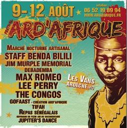 Festival Ard'Afrique 2012