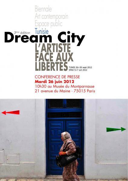 DREAM CITY 2012 : L'artiste face aux libertés