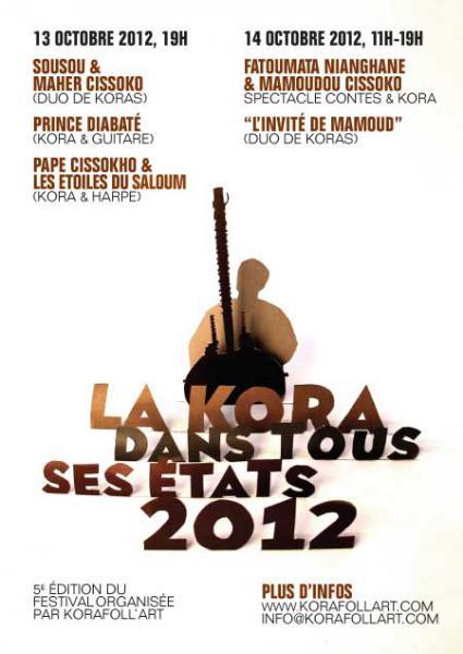 Festival La Kora Dans Tous Ses ETats 2012