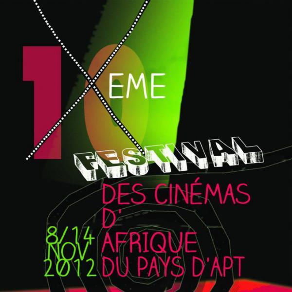 Festival des cinémas d'Afrique du pays d'Apt 2012