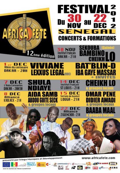 Festival Africa Fête Sénégal 2012
