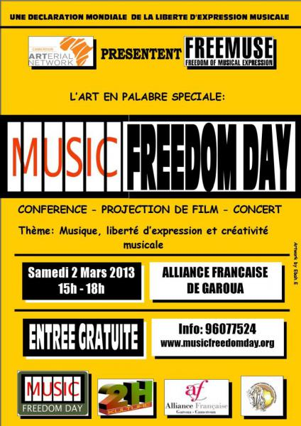 Music freedom day 2013