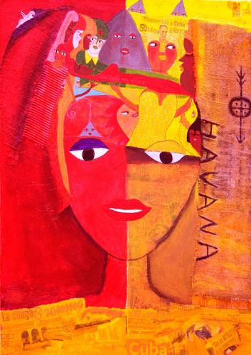 ACONCHA créatrice afro-cubaine exposition. Mars en Jazz