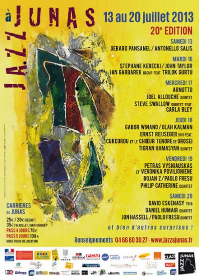 Jazz à Junas 2013