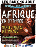 Festival des Alpilles Afrique en Rythmes