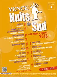 Festival Nuits du Sud 2013