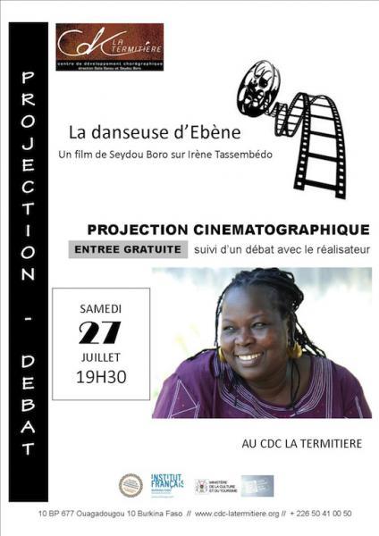 Projection-débat La danseuse d'Ebène