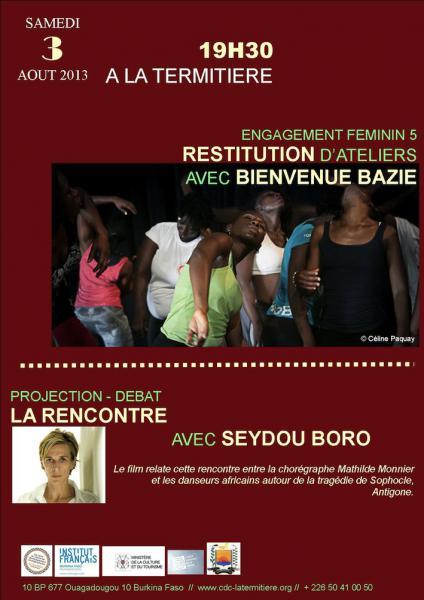 Restitution d'ateliers de danse et Projection-débat La [...]