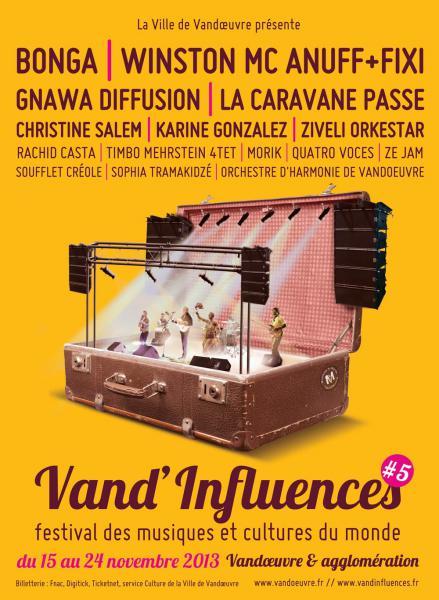 Festival Vand'Influences 2013