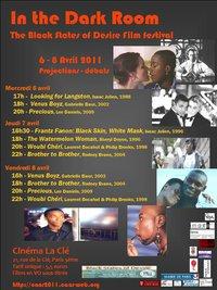 Festival In the Dark Room - cinema Black LGBT
